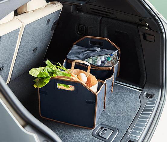 Skladacia taška do kufra auta