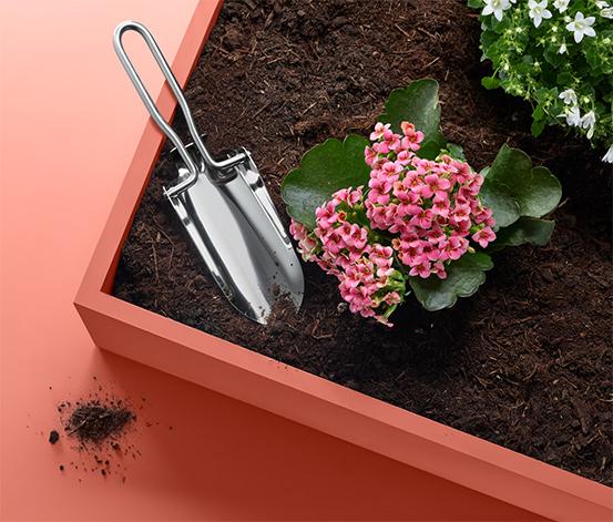 Malá záhradnícka lopatka, skladacia