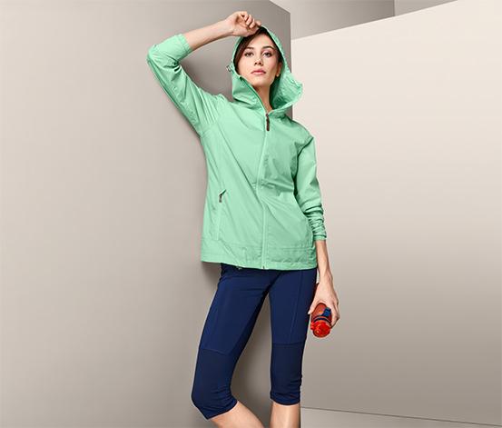 Ľahká bunda do dažďa »pack me«