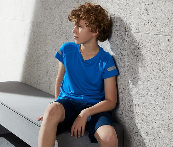 Detské funkčné tričko z recyklovaného materiálu