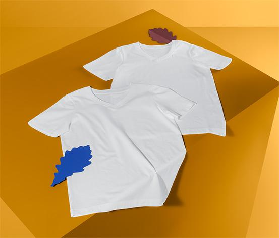 Spodné tričká s polodlhým rukávom, 2 ks