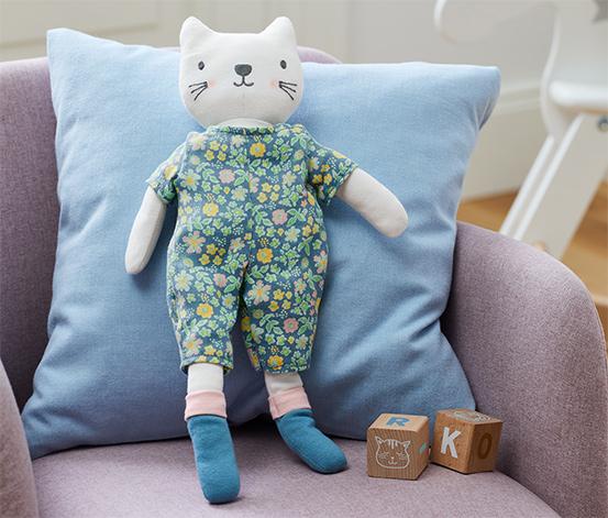 Látková bábika »Mačička«