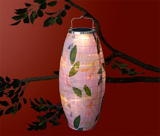 Solárny lampión, dlhý