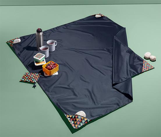 Malá deka na piknik