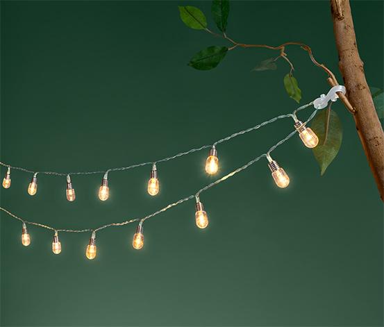 Svetelná reťaz s malými LED žiarovkami