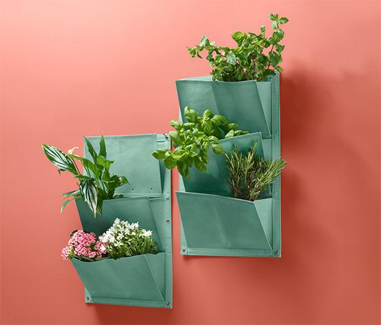 Vrecká na pestovanie rastlín »Vertikálny záhon«