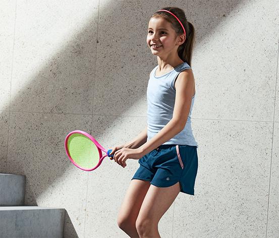 Detské športové šortky z recyklovaného materiálu