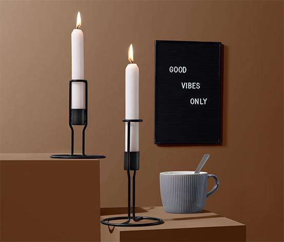 Svietniky na dlhé sviečky, 2 ks