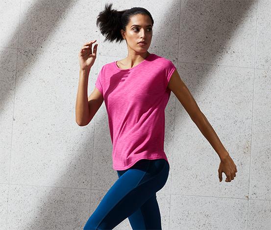 Športové tričko, ružové