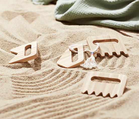 Detské hrebienky do piesku