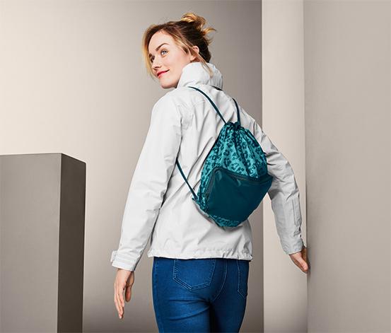 2 v 1: nákupná taška a ruksak