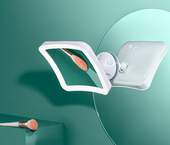 Kozmetické zrkadlo s LED