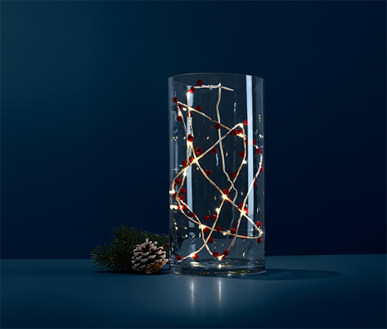 Svetelná vetvička s LED