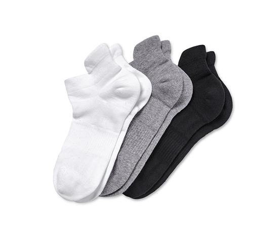 Krátke športové ponožky, 3 páry