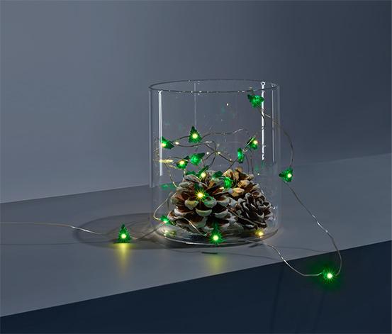 Svetelná reťaz s mikro LED »Jedličky«