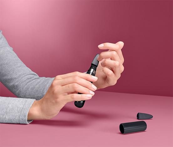 Elektrický sklenený pilník na nechty