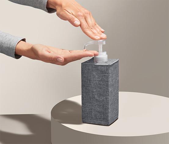 Úložný box na dezinfekčný prostriedok