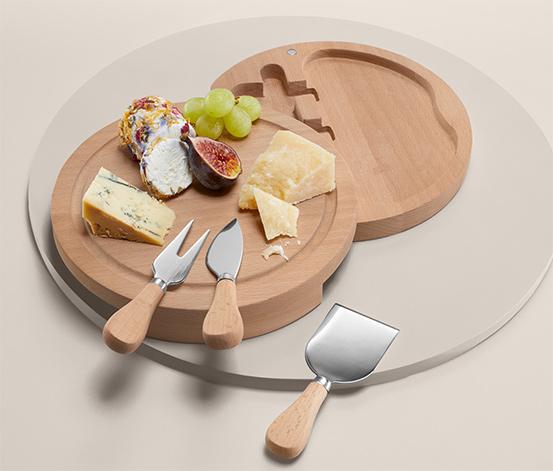 Doska na servírovanie syra