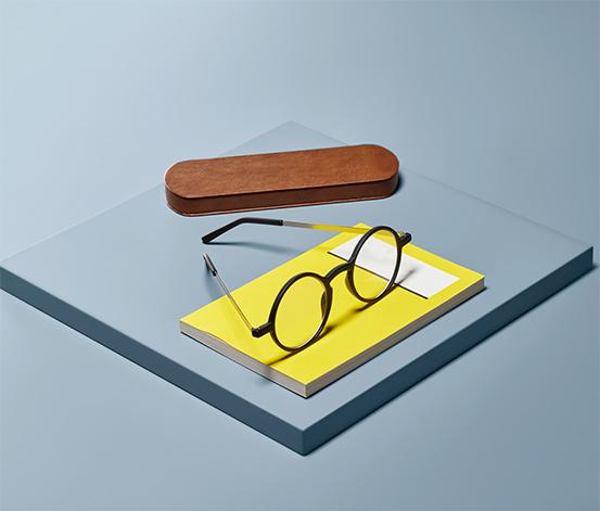 Obzvlášť ploché okuliare na čítanie