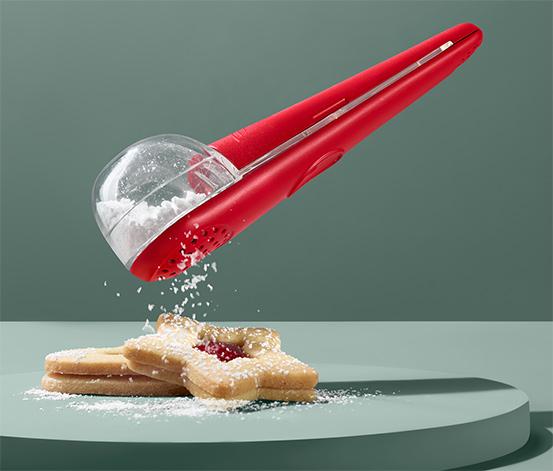Pomôcka na sypanie práškového cukru