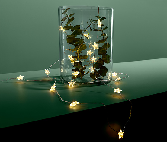 LED mikro svetelná reťaz »Hviezdy«