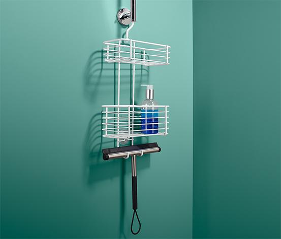 Závesný regál do sprchy