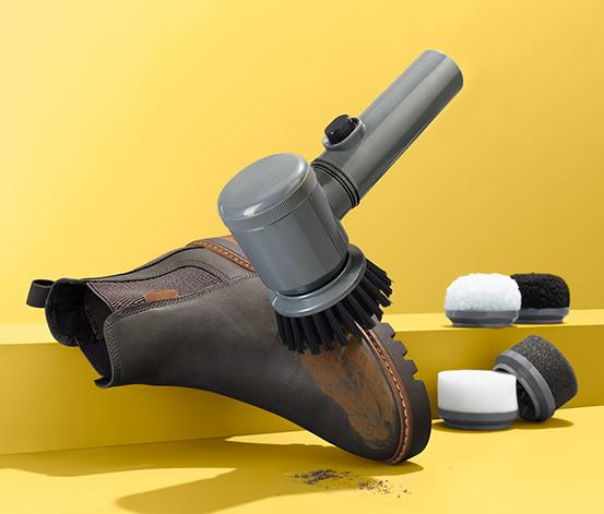 Elektrická kefka na čistenie topánok