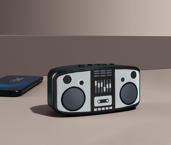 Minireproduktor s Bluetooth®