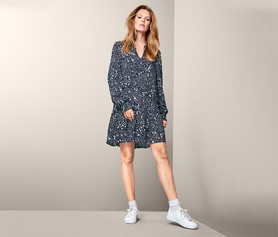Šaty s leopardím vzorom