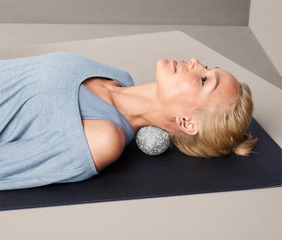 Dvojitá masážna loptička na uvoľňovanie fascií