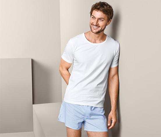 Džersejové spodné tričká s krátkym rukávom, 2 ks