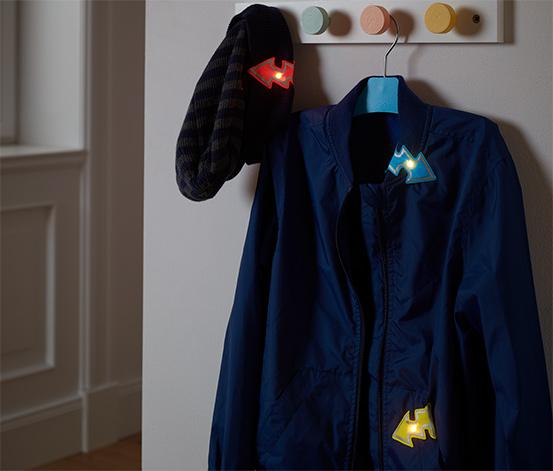 Magnetické svetlá s LED »Blesk«, 3 ks