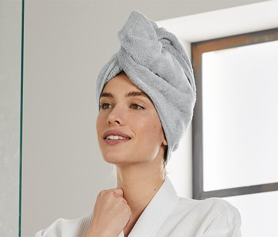 Uterákový turban, marhuľový