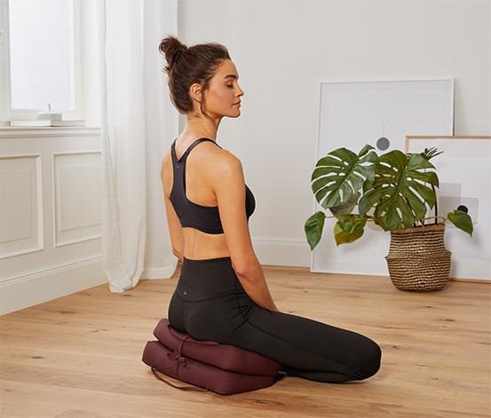 Skladací meditačný vankúšik