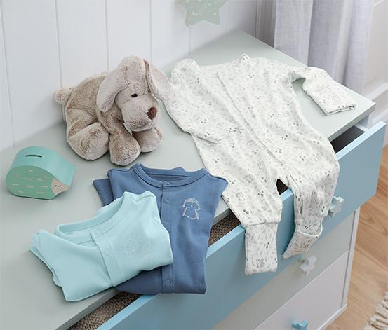 Bavlnené pyžamá, 3 ks