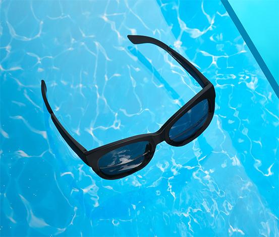 Plávajúce slnečné okuliare, dámske