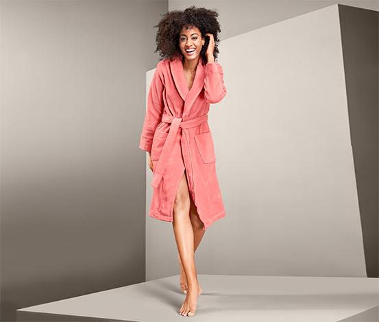 Dámsky velúrový kúpací plášť