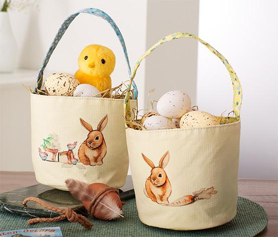 Tašky na veľkonočné vajíčka, 2 ks